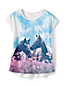 Le T-Shirt à Motifs Nature, Nourrisson Fille