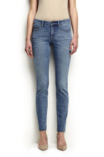 Women's Regular Mid Rise Slim Leg Xtra Life Denim Jeans