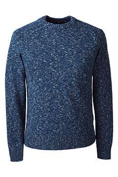 Classic Fit Drifter Cotton Saddle Crewneck Sweater 468986