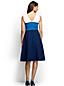 Women's Regular Ponte Jersey Colourblock Panelled Dress