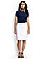 La Jupe Style Denim Stretch 5 Poches, Femme Stature Standard