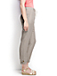 Women's Regular Linen Roll Hem Trousers