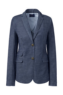 Women's  Stretch Chambray Blazer