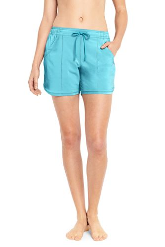 "Women's Comfort Waist 5"" Swim Shorts"