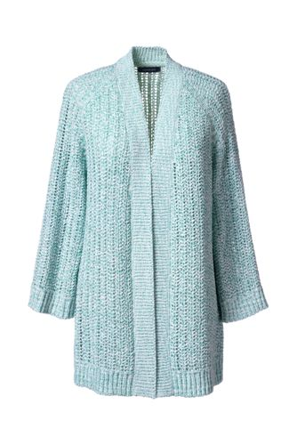 Women's Regular Cotton Tape Open Cardigan