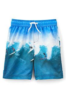 Boys' Photo Print Swim Shorts