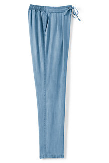 Women's Indigo Soft Trousers