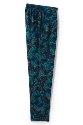 Women's Regular Print Soft Trousers
