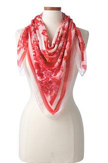 Maxi-Tuch mit Blumenprint für Damen