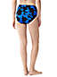 Women's Regular Beach Living Blossom Print High Waist Bikini Bottoms