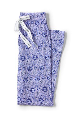 Women's Regular Jersey Patterned Pyjama Bottoms