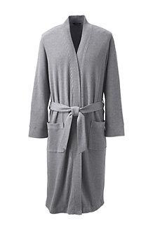 Men's Waffle-knit Dressing Gown