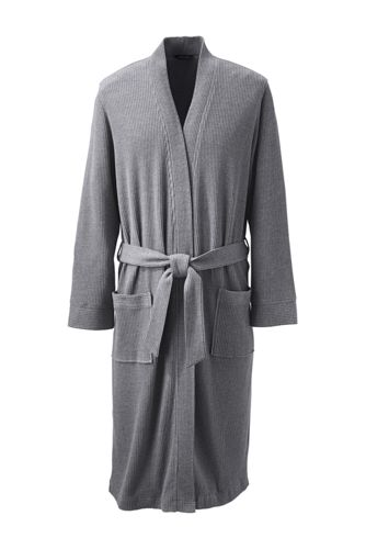 Men's Regular Waffle-knit Dressing Gown