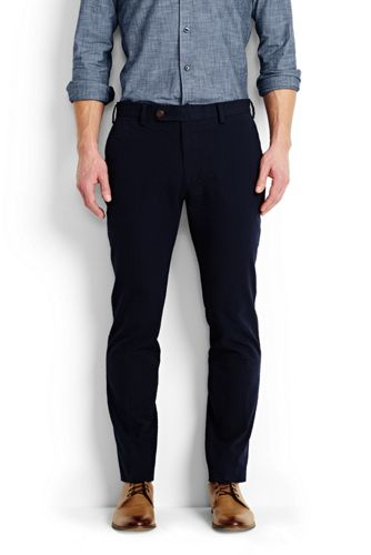 Men's Tailored Seersucker Trousers