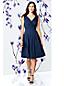 Women's Regular Plain Sleeveless Crossover Dress
