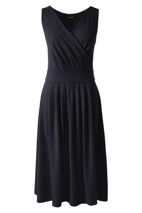 Women's Tall Sleeveless Fit and Flare Dress