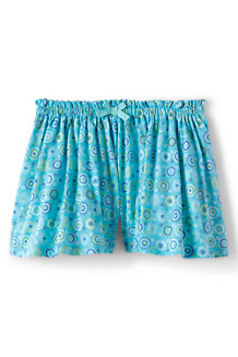 Girls' Patterned Jersey Culottes