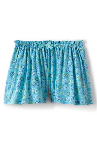 Little Girls' Patterned Jersey Culottes
