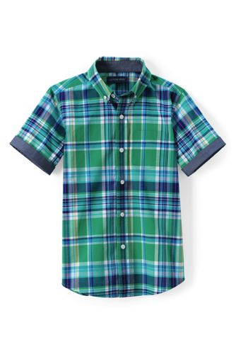Little Boys' Short Sleeve Camp Shirt