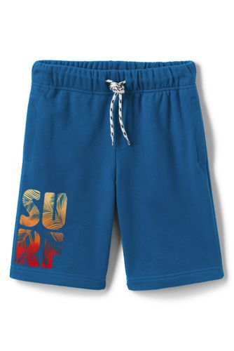 Little Boys' Graphic Jersey Shorts