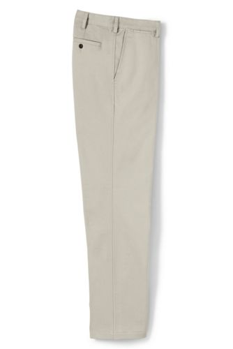 Men's Regular Traditional Fit Casual Chinos