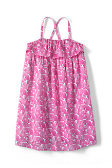 Girls' Woven Sleeveless Dress