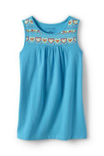 Little Girls' Embellished Vest Top