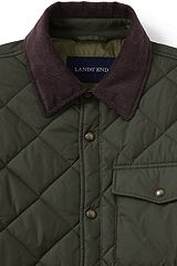 Quilted Primaloft Shirt Jacket 471716: Forest Night