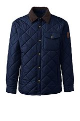 Quilted Primaloft Shirt Jacket 471716: Regiment Navy