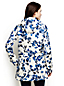 Women's Regular Print Coastal Rain Parka