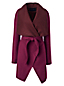 Women's Regular Waterfall Wool Blend Coat