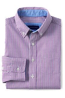 Boys' Smart Checked Poplin Shirt