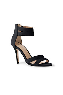 Women's Suede Strappy Sandals