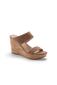 Women's Two-strap Wedge Sandals