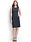 Women's Petite Ottoman Jersey Shift Dress