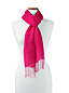 Women's Plain Linen/Viscose Scarf