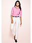 Fleckabweisende Slim Jeans in Weiß für Damen