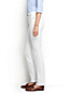 Women's Mid Rise Slim Leg Stain Repellent White Jeans