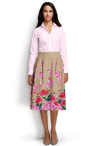 s midi skirt from lands end
