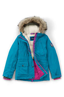 Girls Plus Size Expedition Down Winter Parka, Front