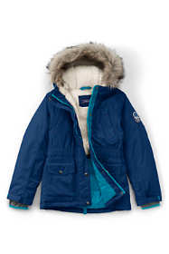 School Uniform Girls Expedition Down Winter Parka