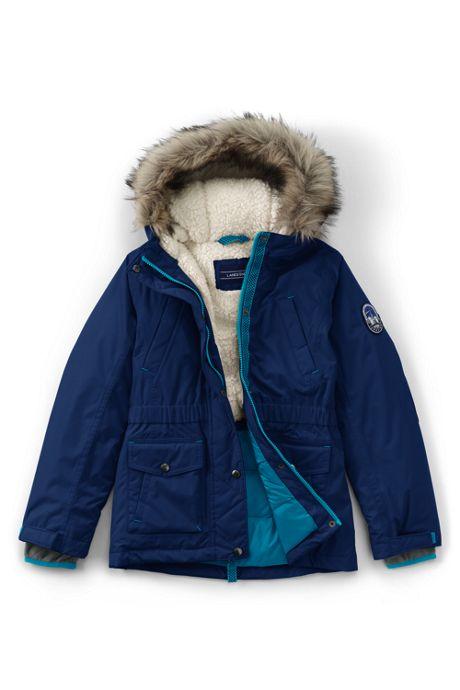 Girls Plus Size Expedition Down Winter Parka