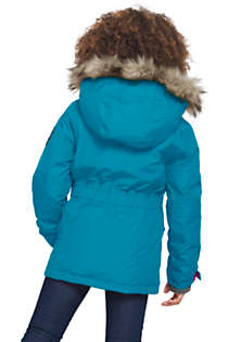Girls Plus Size Expedition Down Winter Parka, Back