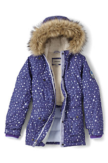 Girls' Patterned Expedition Parka
