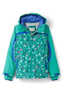 Girls' Patterned Stormer Jacket