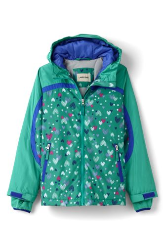 Little Girls' Patterned Stormer Jacket