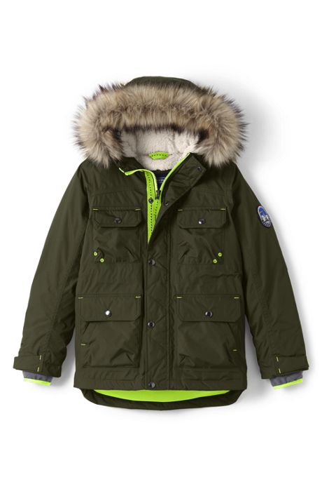 School Uniform Little Boys Expedition Down Winter Parka