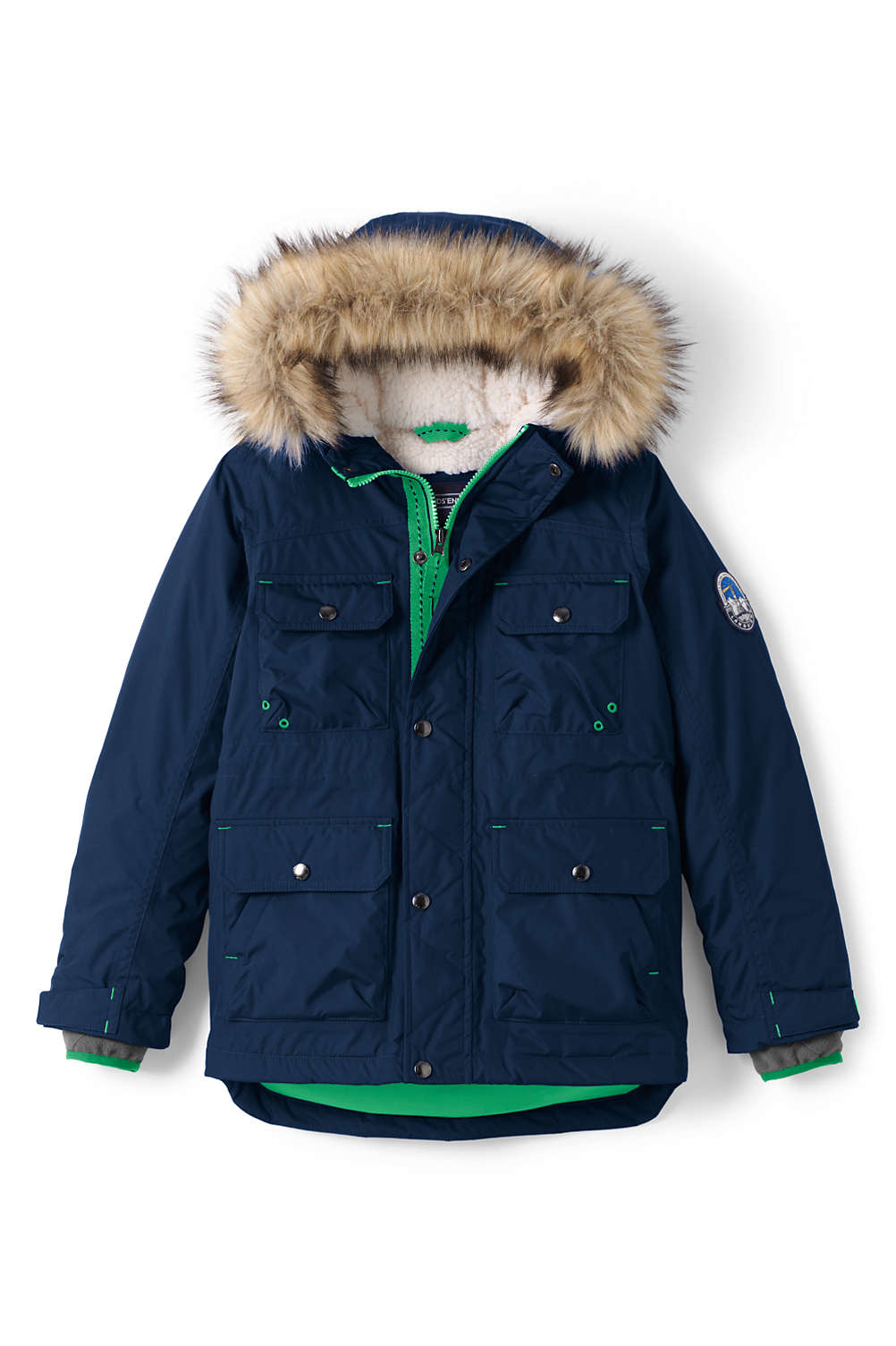 c06f4bb6a Boys Expedition Down Winter Parka from Lands  End