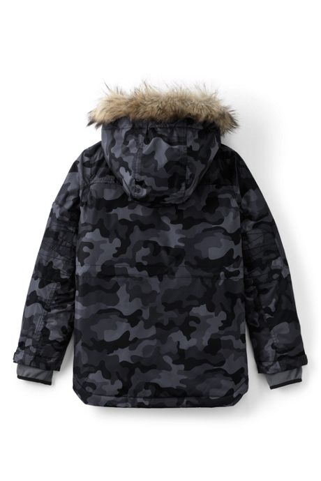 Little Boys Expedition Printed Parka