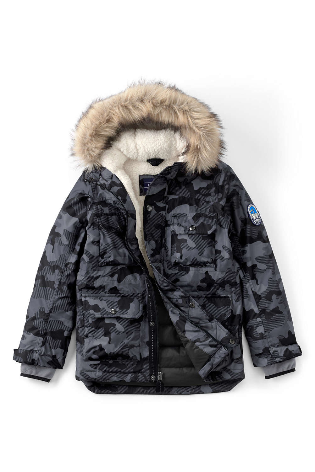 8b45ae3fae07 Boys Expedition Down Winter Parka from Lands  End
